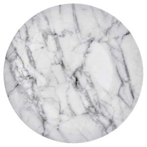 Four Marble Pattern Plates